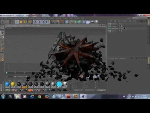 How To Make A Fracture Frame | Cinema 4D Tutorial
