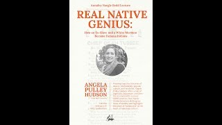 Gambar cover Angela Hudson - Real Native Genius: How an Ex-Slave and a White Mormon Became Famous Indians