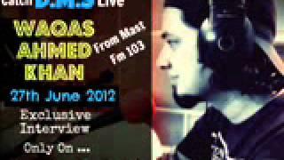 Rj DJ Waqas Ahmed Khan (DMS) Live Interview on Funnypak.Com