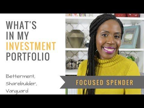 What's in My Investment Portfolio?! Sharebuilder, Betterment and Vanguard