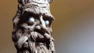 Old man, quick sculpt in 20 minutes.