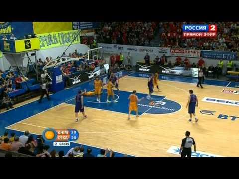 Баскетбол  Химки ЦСКА  31 05 2013  Багга