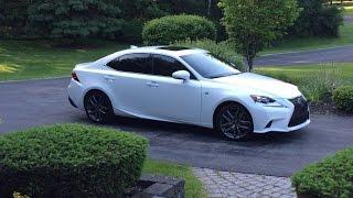 Lexus IS F SPORT 2014 Videos