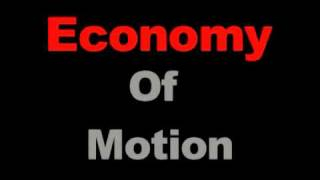 Martial Arts: Economy of Motion / Jeet Kune Do / CQC