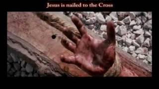 11 - ELEVENTH STATION: Jesus is nailed to the Cross