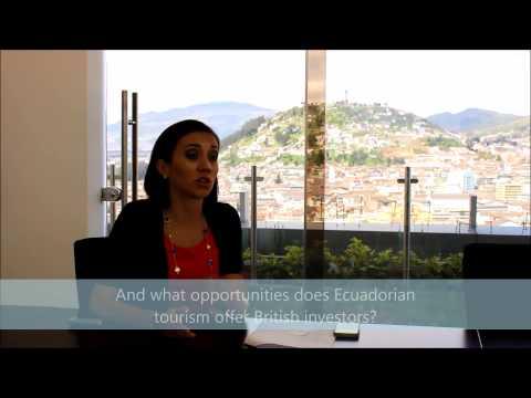 Interview with Sandra Naranjo, Ecuador's Minister for Tourism