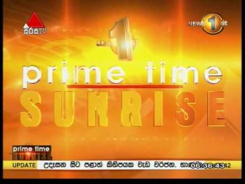 News 1st Prime time Sunrise Sirasa TV 6 30AM 15th September 2016