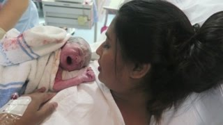 NATURAL LABOR & DELIVERY OF ISAAC | BIRTH VLOG!