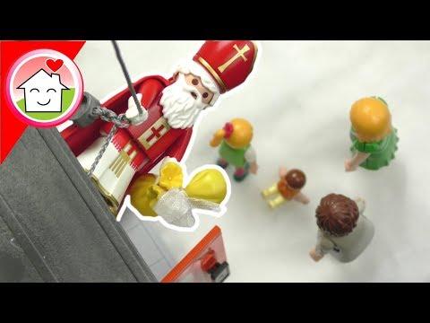 Playmobil Film deutsch - Anna und Lena warten auf den Nikolaus - Familie Hauser Spielzeug Kinderfilm
