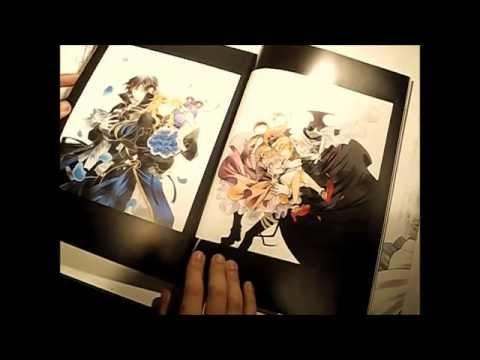 [ASMR] Pandora Hearts Art Book Show and Tell