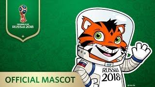 Встречайте Тигра, официального кандидата в Талисманы Чемпионата мира по футболу FIFA 2018 в России