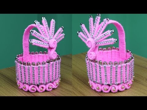 Amazing woolen art and craft ideas - Woolen showpiece for home decor - New woolen design- DIY Crafts