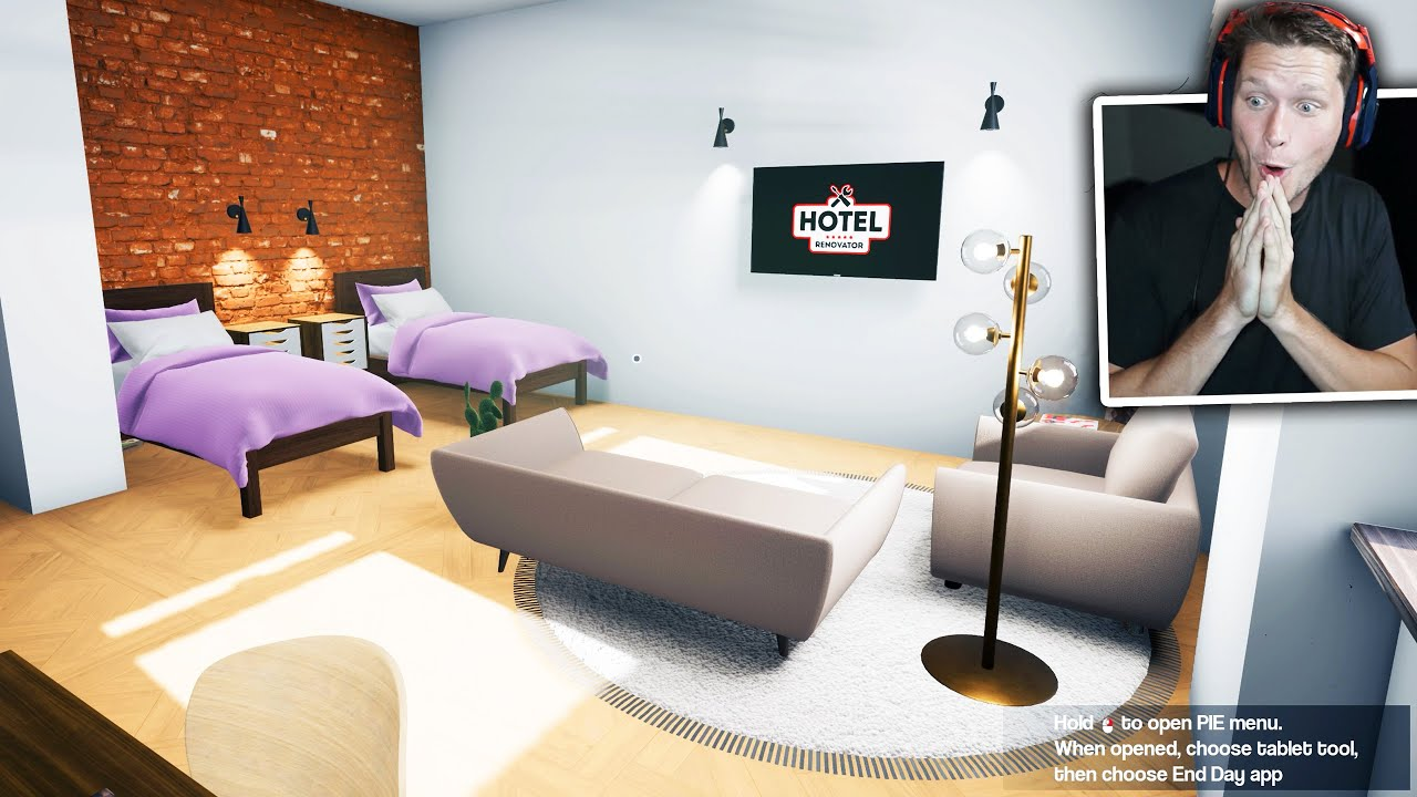 Hotel Renovator - Part 1 - The Beginning