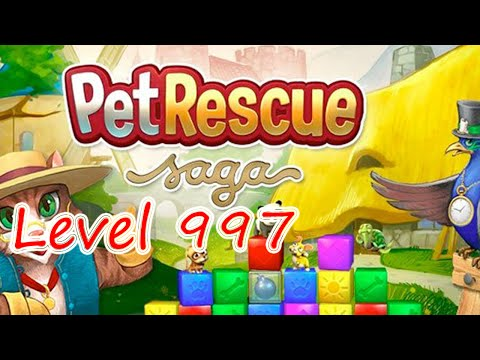 Pet Rescue Saga Level 997 (NO BOOSTERS)
