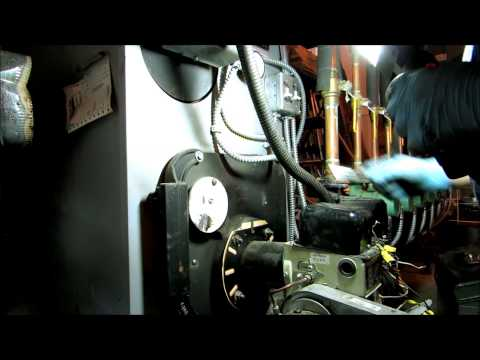 peerless boiler no heat call,bad transformer,full cleaning