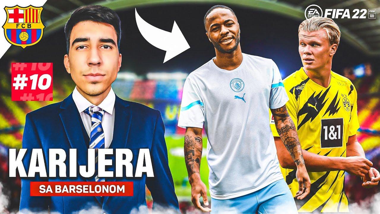 LUDO ZATVARANJE TRANSFER ROKA! FINALE SUPERKUPA! - KARIJERA BARCELONA #10 (FIFA 22)