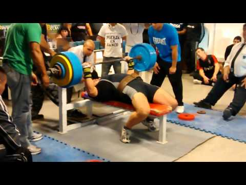 Eduardo Alcaraz 230kgs RAW Nacional Fuerza en Banco 2014