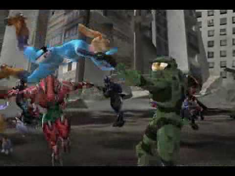 HALOID (Halo + Metroid Prime - Master Chief VS Samus Aran)