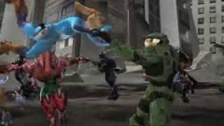 HALOID (Halo + Metroid Prime - Master Chief VS Samus Aran)