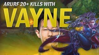 20 KILLS ARURF VAYNE - League Of Legends