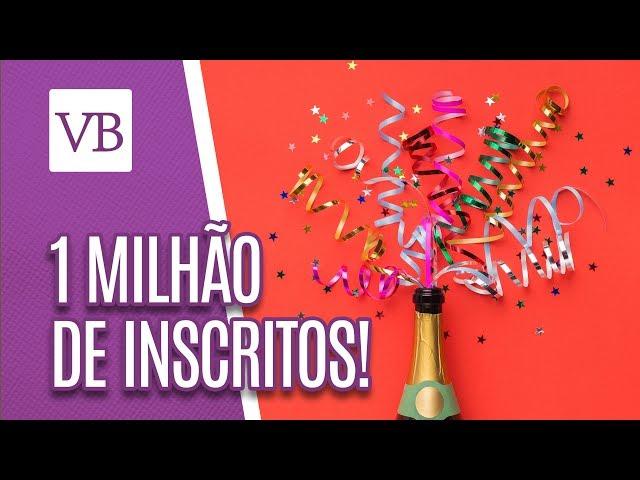 Agradecimento da Carol | 1 MILHÃO DE INSCRITOS!