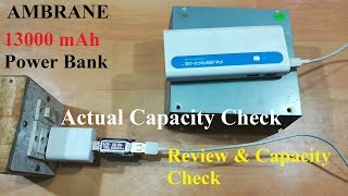 Ambrane 13000 mAh Power Bank - 2 years usage review- Real Capacity Revealed