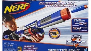 NERF Elite Spectre Rev 5 Unboxing and Review