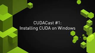 Installing CUDA Toolkit on Windows
