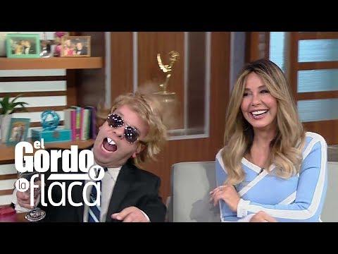 Myrka Dellanos se reencuentra con Luis Miguel en El Gordo y La Flaca