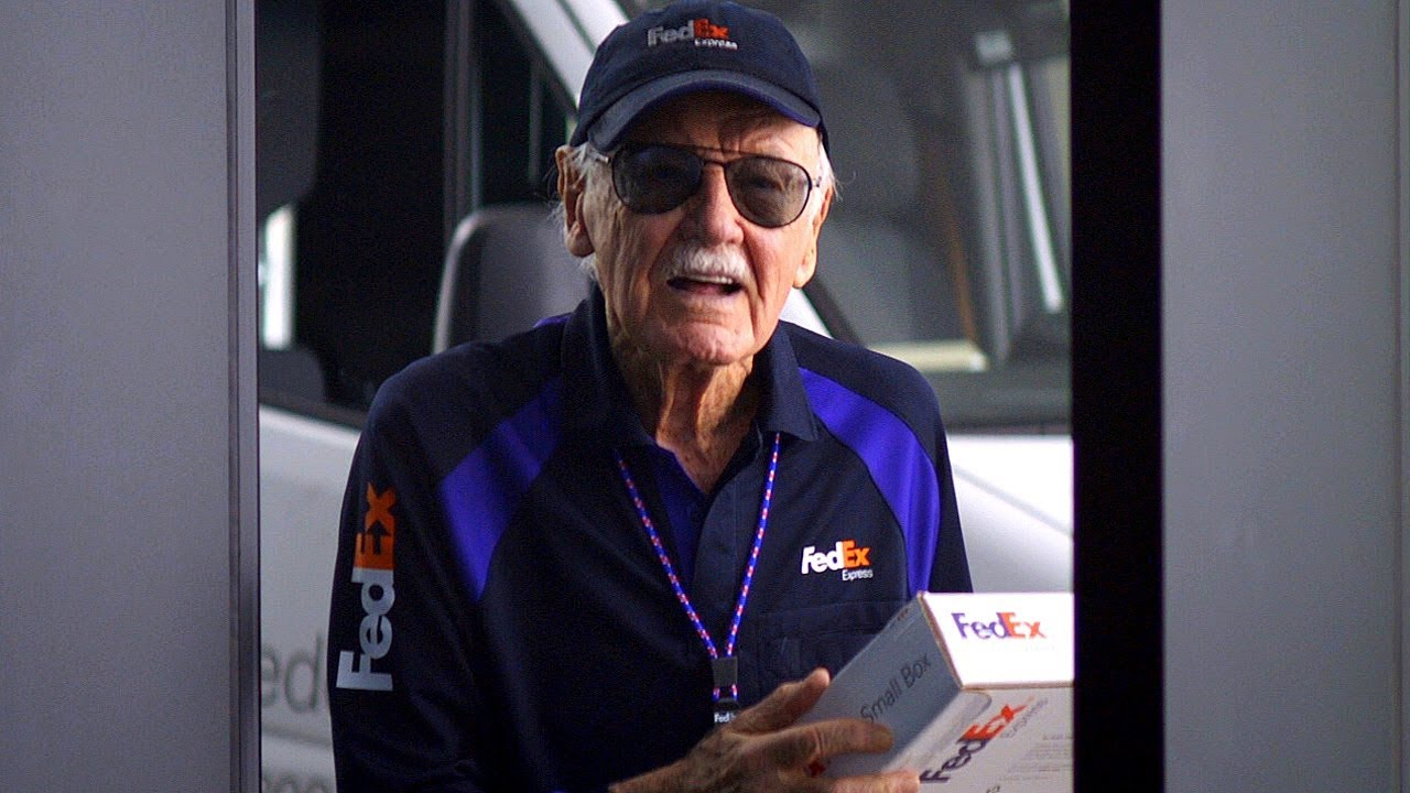 "Stan Lee Cameo ""Are You Tony Stank?"" Ending Scene - Captain ..."