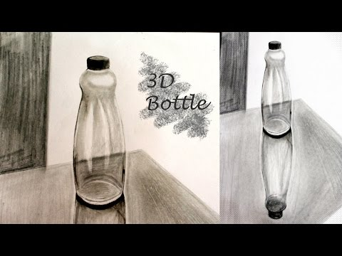 3D Bottle Sketch