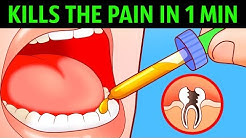 10 Ways to Kill a Toothache In a Minute