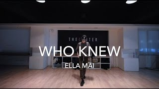 Who Knew - ELLA MAI | Ri Ye Choreography