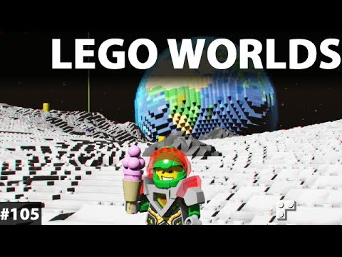 LEGO WORLDS Game Gameplay Walkthrough Classic Space DLC Pac #104