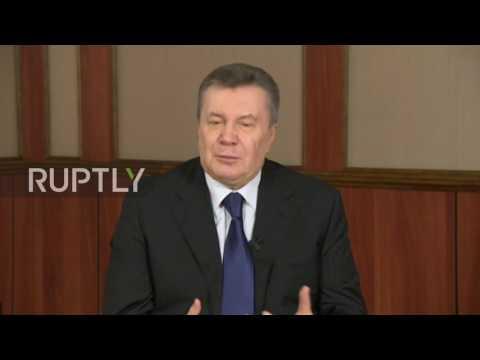 """Russia: 'Cowardly' Kiev has no """"stomach"""" to resume war in E. Ukraine – Yanukovych"""