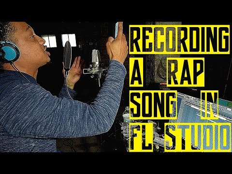 'WATCH ME' RECORD A RAP SONG IN FL STUDIO