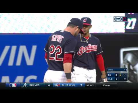 Battle lines are drawn between Indians' Francisco Lindor and Jason Kipnis
