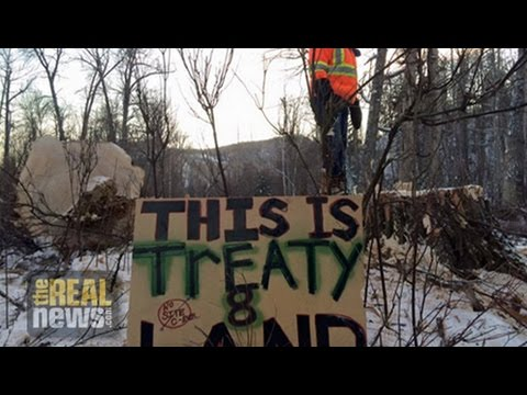 Court Order Fails to Halt Protests Over $9bn Canadian Dam Project