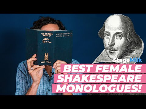 Shakespeare Monologues for Women | Best Female Shakespeare Monologues
