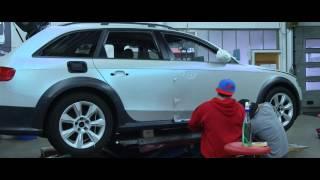 Komplettfolierung Audi A4 Allroad carwrapping