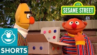 Sesame Street: Ernie Pretends with Bert's Box