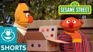 Sesame Street: Ernie Pretends with Bert's Box