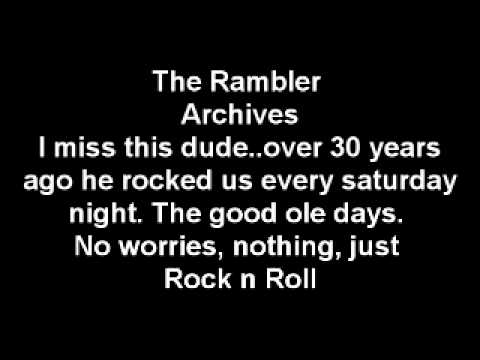 More Original Midnight Rambler DJ