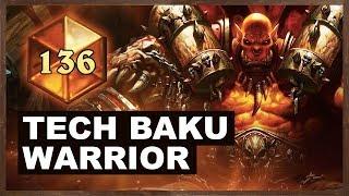 Tech Baku Warrior High Legend | Rastakhan's Rumble | Hearthstone