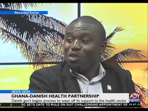 Ghana danish health partnership - News Desk on Joy News (3-3-16)