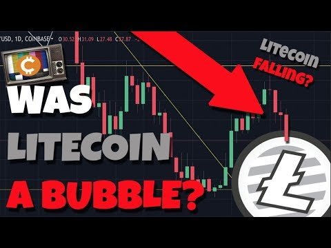 Why Is Litecoin Falling? - Charlie Lee Explains Litecoin Was A Bubble