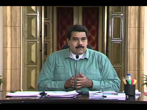 Presidente Nicolás Maduro, respuesta a documento National Security Strategy 2015 de Obama