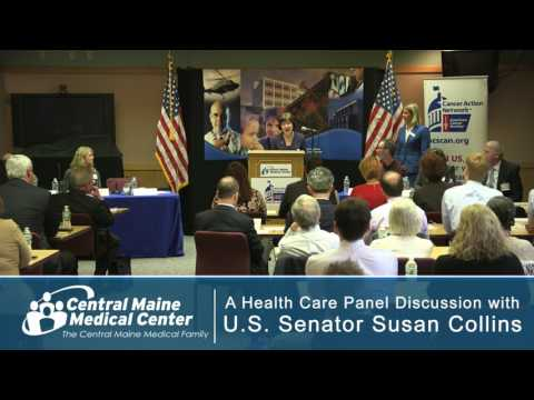 Health Care Panel Discussion with Senator Susan Collins (R-ME)