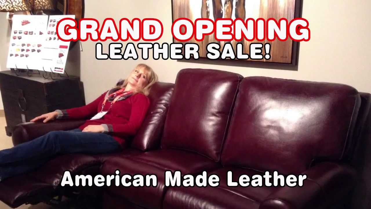 usa made leather furniture warehouse portland youtube. Black Bedroom Furniture Sets. Home Design Ideas