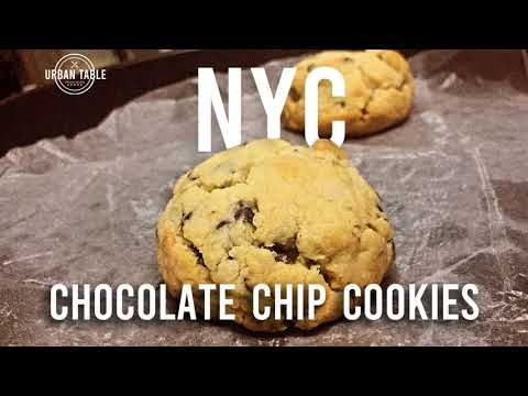 NYC Chocolate Chip Cookies